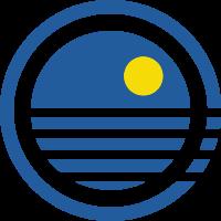 海面和太阳标志