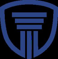 建筑和盾牌的标志设计