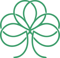 线条手法设计的黑桃标志