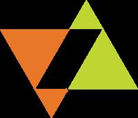 相交的两个正三角形标志