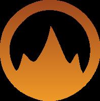 一座山一个圆