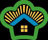 厨房概念的标志设计