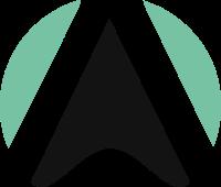 圆圈和尖尖的三角形标志