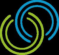 相互交叉的四个圆圈标志