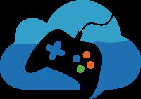云朵和游戏手柄标志