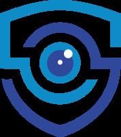 眼睛和安全顿元素设计的标志
