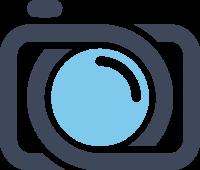 一款粗线条设计的相机标志