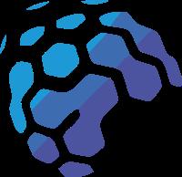 抽象化设计人脑结构图标志