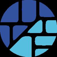 圆内区块概念设计的标志