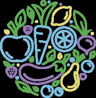 水果符号组成的标志